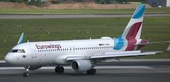 Airbus A-320 D-AEWL (707-348C) Tags: dusseldorf eddl dus airliner jetliner airbus airbusa320 passenger dusseldorfairport daewl a320 eurowings ewg