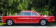 Early Corvair coupe (GmanViz) Tags: gmanviz color car automobile detail goodguysppgnationals nikon d7000 chrome 1961 chevrolet corvair monza coupe profile