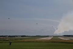 """Blue Angel 1 """"Break Left"""" (kschmidt626) Tags: blue airplane airshow angels milwaukee"""