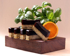 Orange Soap (RoYaLHigHnEsS1) Tags: product photography studio handmade soap still life orange basil freash organic