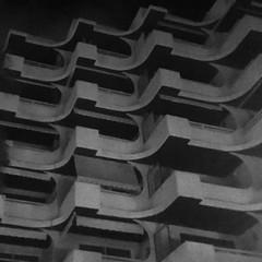 Brutal Ibiza (mrdamcgowan) Tags: ibiza santaeulalia spain concrete architecture balconies grey blackandwhite monochrome brutal brutalism