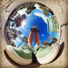 blue sky, 4th dimension at Argeles sur Mer, ciel bleu, 4e dimension à Argeles sur Mer, #benheinephotography #perspective #gear360 #france #argelessurmer #benheine #fisheye #street #galaxyS8 #rue #ourlittleworld #4thdimension #shoe #chaussure (Ben Heine) Tags: benheinephotography photography composition light smartphone nature landscape beauty beautiful photo photographie art ifttt instagram benheine horizon benheineart