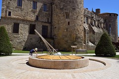 Sundial at the cathedral (Tanja-Milfoil) Tags: sundial park sun wasser sonnenuhr kirche kathedrale cathedral europa europe southoffrance shot aufnahme picture bilder milfoil tanja nikon france frankreich narbonne
