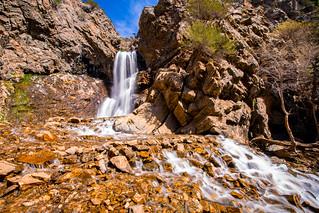 Adams Canyon Waterfall