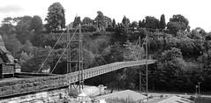Footbridge Bridgenorth Station (wontolla1 (Septuagenarian)) Tags: bridge bridgnorth railway station footbridge severn valley preserved rail shropshire
