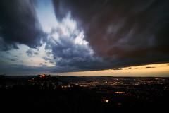 Rotenberg (Marc R. A.) Tags: clouds stuttgart rotenberg a7r2 batis25 zeiss sky city landscape goldenhour