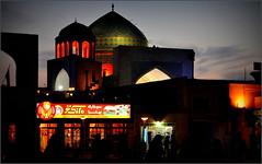 Yazd, au début de la nuit... (Save planet Earth !) Tags: iran yazd nikon amcc