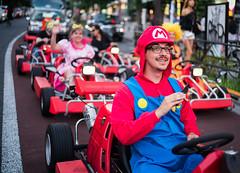 It's Mario! (Stuck in Customs) Tags: japan stuckincustomscom tokyo treyratcliff mario kart hdr hdrphotography hdrtutorial rcmemories mariokart harajuku