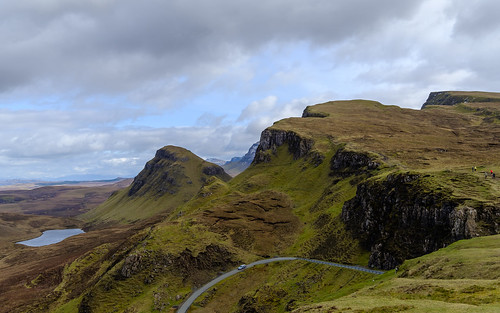 The beautiful Quiraing mountains