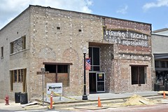 Farmers & Merchants National Bank Building - Henderson,Texas (Rob Sneed) Tags: usa texas henderson ruskcounty easttexas sign ghost vintage carvedconcrete retro advertising business independent architecture ghostsign handpainted smalltown urban historic 101emainst downtown commercial businessdistrict