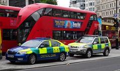 First Aid Cover - V999 FAC & T999 FAC (999 Response) Tags: first aid cover v999fac t999fac london private ambulance nissan skoda