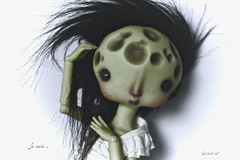 I know - Moonâme (Vali.Tox.Doll) Tags: moon nefer kane circus doll bjd ball jointed green skin