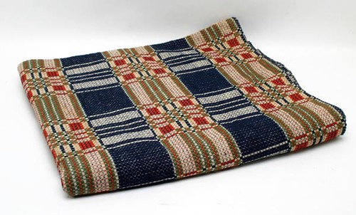 19th c. Four Color Coverlet ($201.60)