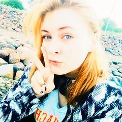 Sometimes I want to fall in love, but... No. (Last Chamomile Dragon) Tags: girl beauty tumblr blue eyes hair blonde walk fashion likeme followme excuseme piercing