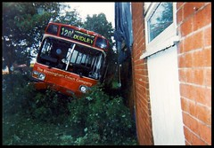 Wedged National. ((Stop) The Clocks) Tags: leyland leylandnational bcc birminghamcoachcompany