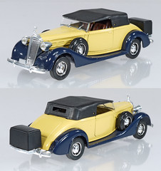SOL-4037-Packard (adrianz toyz) Tags: solido diecast toy model car vintage 143 scale 4037 packard supereight 1937