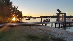 River Sunset (Gillian Everett) Tags: noosa river sunset queensland flare sun 365 2017 mdpd2017 mdpd201707 explore explored