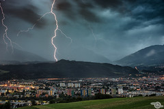 Lightning (Danijel Jovanovic Photography) Tags: thunderstorm lightning weather rain clouds thunder storm sony alpha 99ii innsbruck tyrol tirol austria