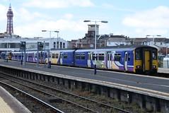 NT 150150 and 150271 @ Blackpool North (ianjpoole) Tags: northern rail class 150 sprinters 150150 150271 working 2n24 hazel grove blackpool north