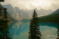 DSC02336 (♥ MissChief Photography ♥) Tags: alberta canada water river trees mountain nature outdoors lakemoraine