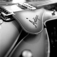 My Rad 1967 Fender Coronado in Antigua (OutrageousOmar) Tags: mamiyac330f mamiyac330 mamiya macro instrument musicinstrument music antigua coronado guitar fender