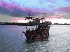 Small Galeon Tampa Bay (Lettyesp) Tags: travel galeon tampa bay florida travelling sea lovers