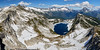 Hidden Lake (Photo_Flow) Tags: hiddenlake northerncascades cascades 7dii panorama pacificnorthwest washingtonstate landscape landschaft usa mountains berge lake see bergsee peaks view summer 2017