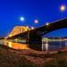 Nijmegen, Waalbrug @bluehour