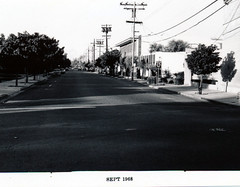 Menlo Park 1968: Oak Grove Avenue (menloparkplanning) Tags: oakgroveavenue mp1968downtownecr 1968 downtown menlopark california sanmateocounty historicalphoto historical scannedphoto