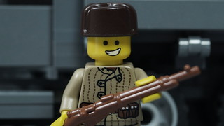 Lego Russian WWII Soldier