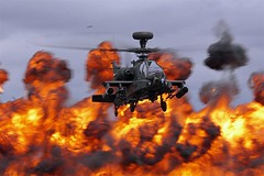 Apache - Explosion... (Gary Neville) Tags: apache helicopter riat riat2017 sony sonya6300 a6300 garyneville