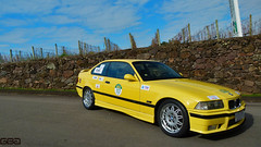 BMW M3 E36 1995 Dakar Yellow I (Gabrielgbg) Tags: bimmer gpower engine yellow dakar 6cilindros sixinline old classic dream wish uva grape vinicola miolo vale vinhedos bento gonçalves wine garden aspro aspiration bm