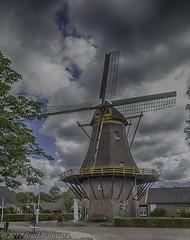 """De Hoop"" build in 1835, Markelo, The Netherlands (A.J. Boonstra) Tags: sigma18300mmf3563dcmacrooshsmc sigma canon70d canon canoneos dehoop markelo korenmolen molenvanbuursink mill thenetherlands hdrefexpro2"