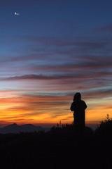 石門山-觀日出 (Sam's Photography Life) Tags: 石門山 武嶺 風景 日出 晨曦 攝影人 攝影 紅霞 藍天 百 百微 1dx 100mm 1d 100400 1635 canon landscape sun 合歡山