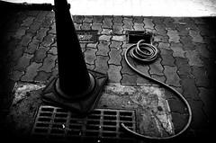 Street Fragments #297 - Kobe in a cracked mirror (Yoshi T. (kagirohi)) Tags: japan japanese kobe blackwhite bw street streetphotograph streetphotography alley fragment urban city cityscape snapshot ricoh gr ricohgr 日本 神戸 白黒 モノクローム モノクロ 路上 ストリート ストリートフォト 都市 風景 都市風景 スナップ スナップ写真 リコー 断片 blackandwhite monochrome depthoffield