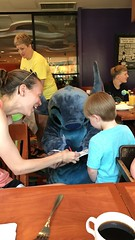 """Stitch Signs an Autograph for Paul • <a style=""""font-size:0.8em;"""" href=""""http://www.flickr.com/photos/109120354@N07/35814869932/"""" target=""""_blank"""">View on Flickr</a>"""