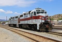 A New Scheme (BravoDelta1999) Tags: copperbasin railway cbry railroad southernpacific sp hayden arizona emd gp39 503 504
