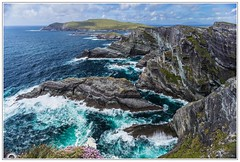 """Costa salvaje"" (Gerkraus) Tags: acantilado irlanda granangular condadodekerry canon clift ireland paisaje landscape"
