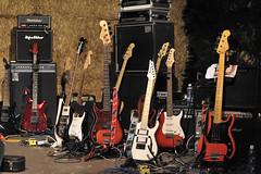 Guitars (lorenzog.) Tags: guitars arenadelleballedipaglia cotignola livemusic livemusicphotography musicphotography show nikon d700 htbarp nellarenadelleballedipaglia ilobsterit