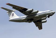 78820 (GH@BHD) Tags: 78820 ilyushin il76 il76md ukrainianairforce riat riat2017 royalinternationalairtattoo raffairford fairford airlifter freighter cargo aircraft aviation military transporter transport
