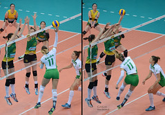 Women's volleyball FIVB World Grand Prix Group 3 finals 2017 (tree.twisted) Tags: volleyball fivbworldgrandprix2017 smash glutes actionphotography liveevents nikon300mmf4pf soos