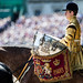 DUKE OF CAMBRIDGE TAKES THE SALUTE  FOR HIS FIRST COLONELOS REVIEW