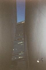 0030 (Ami Van Caelenberg) Tags: analog analogue fujifilm film 35mm outdoor disposable disposablecamera osaka japan abeno abenoharukas building architecture sky skyscraper harukas night grainy