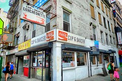"""Cup & Saucer, NYC, 2011 (Permanently Closed - 7/2017) (STREET MASTER) Tags: lowereastside storefronts cupsaucer candidstreetphotography christopherrichey documentery canal street eldridgestreet canalstreet coke cocacolasign cocacola vintage signage sign storefront shop luncheonette diner newyorkcity chinatown cupsaucerluncheonette restaurant facade chrisricheycom candid streetmaster chrisrichey """"candidstreet"""" """"candidstreetphotography"""" chrisricheyymailcom """"christopherrichey"""" """"christopherricheyphotography"""" """"dallasstreetphotographer"""" """"dallasstreetphotography"""" food historical manhattan """"newyorkcity newyork"""" ny """"photoshotbychristopherrichey"""" """"signofthetimes"""" signs """"signshandwritten"""" """"stilllife"""" """"storefront"""" """"storefronts"""" """"street streetcandid"""" """"streetmaster"""" """"streetphotographer"""" """"streetphotography"""" wwwchrisricheycom"""