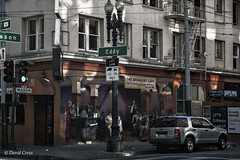 The Breakers Cafe (buffdawgus) Tags: california eddystreet innercity leftcoast lightroom6 masonstreet sanfrancisco streetscene tenderloin thebreakerscafe thetenderloin topazsw urbanamerica urbanlandscape westcoast