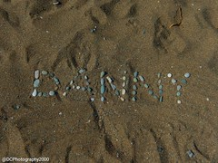 Writing in the Sand 🌞 (DCPhotography2000) Tags: stone pebble cyprus spring outdoors writing