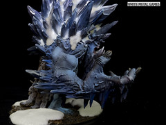 Glacier King (whitemetalgames.com) Tags: trollbloods troll blood glacier king gargantuan electrum level wmg white metal games hordes warmachine warmahordes privateer press giant 000wmgwhitemetalgameshobbycommissionpaintedpaintingserviceservicesraleighnc knightdale knight dale