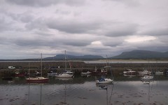 Mullaghmore Harbour. (mcginley2012) Tags: harbour mullaghmore dartrymountains boats buoy ireland cameraphone lumia650 dull pier cloud