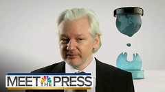 """An overlooked comment by Assange last summer? July 31 interview with Chuck Todd about recent DNC leaks, Assange """"won't speculate"""" about their sources, but when urging that the real story is what's happening at the DNC, he says """"Our sources within the DNC (#B4DBUG5) Tags: b4dbug5 shapeshifting 2017says"""