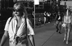 First Friday On Roosevelt (Stephen Shea) Tags: streetphotography leica leicam2 summicron50 kodakfilm kodaktrix dtphx downtownphoenix firstfridayphoenix first friday firstfridayphx shootfilm filmisalive blackandwhite 35mm 35mmphotography